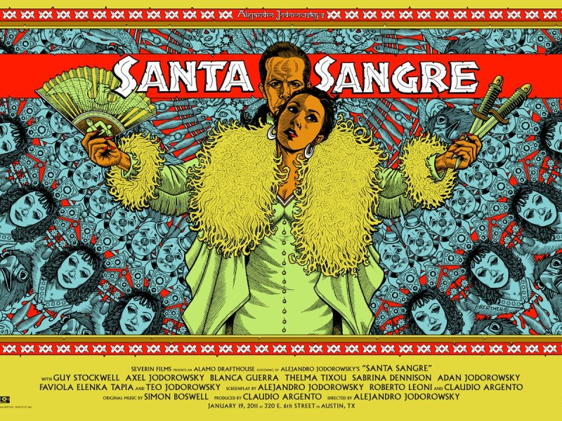 31 Days of Horror: Day 3- Santa Sangre (1989)