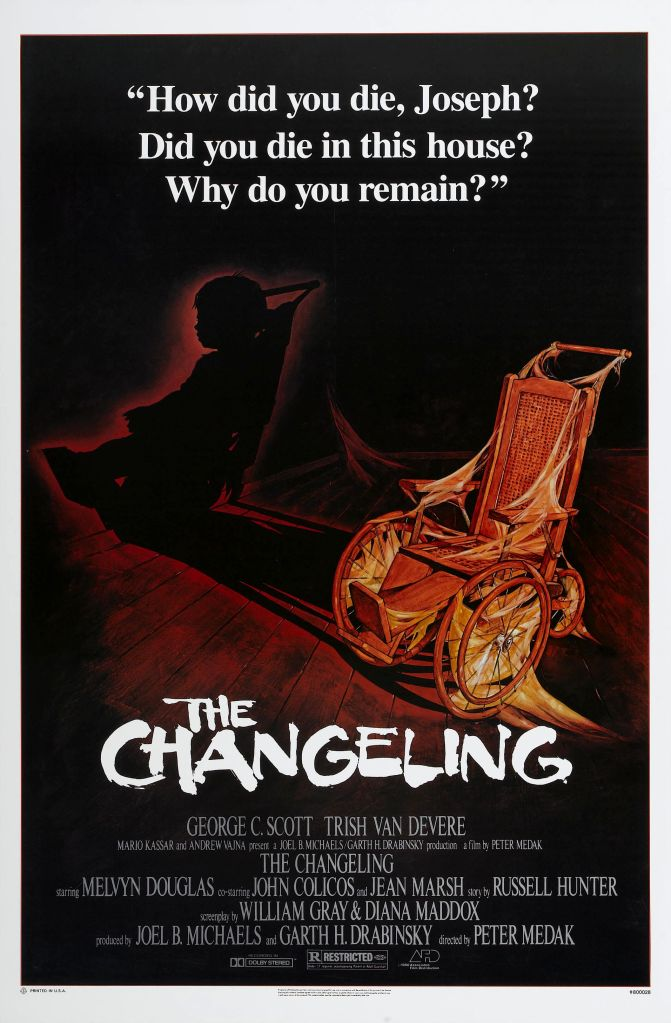 31 Days of Horror: Day 13- The Changeling (1980)