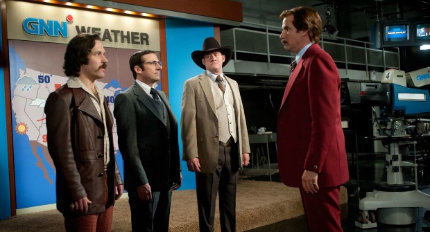 Choose Your Protection! Watch Anchorman 2: The Legend Continues Trailer