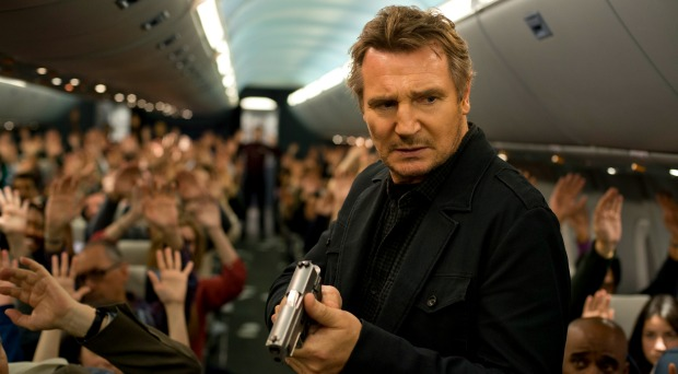 Liam Neeson Let's Lose those'Skill' In UK trailer For Non Stop