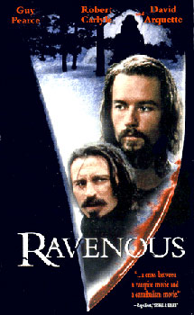 31 Days of Horror: Day 26- Ravenous (1999)