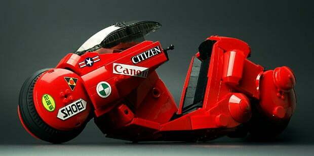 Cool Stuff – Iconic Akira 'Kaenda' Bike Gets A Lego Model