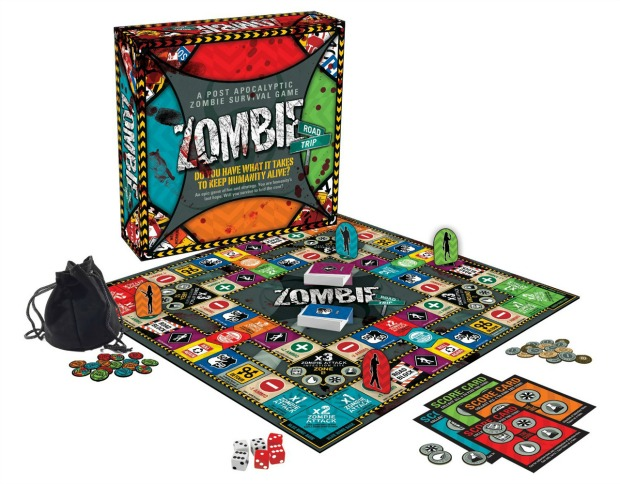 Prepare For The Apocalypse With A Game Of Zombie Road Trip
