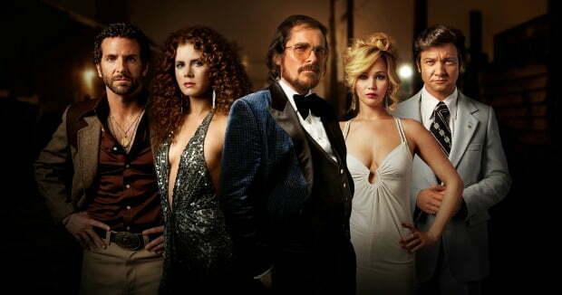 2014 Golden Globes  'Hustled' By American Hustle