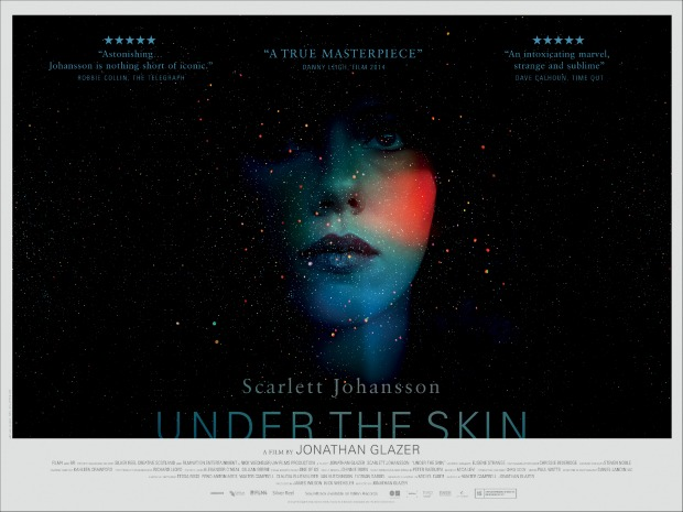 Under the Skin UK Poster