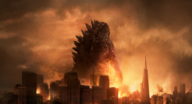 Destruction Ablaze  In The New Godzilla  Second UK Trailer