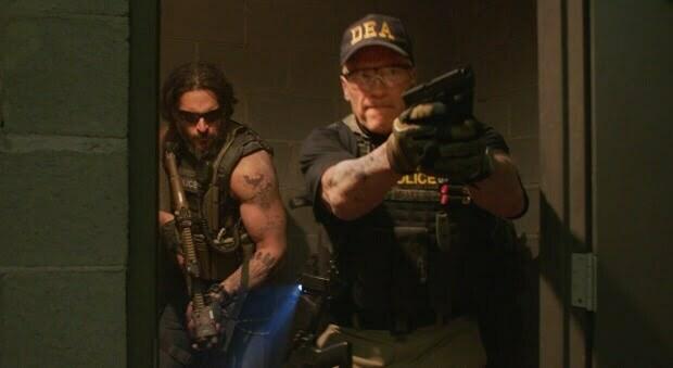 Hasta La Vista Baby! Arnie Goes Red Band In New Sabotage Trailer