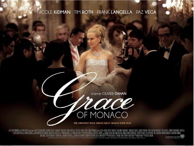Grace of Monaco - quadUK Poster