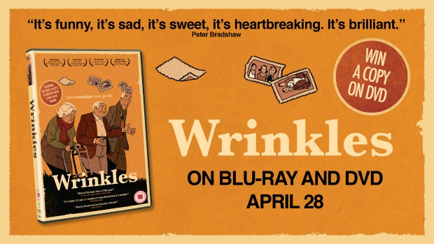 Win The Compelling Animation Wrinkles On DVD