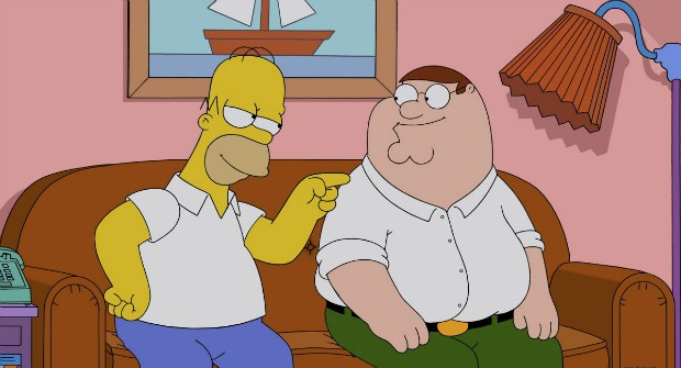 Television Review – The Simpsons Guy Episode