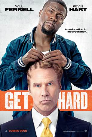 Will Ferrell prepares for jail in 'Get Hard' trailer