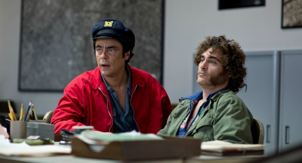 Check Out The Hip Neon-Written Inherent Vice Poster