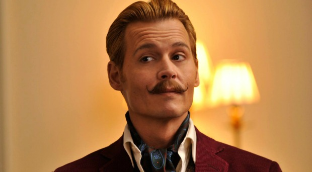 Johnny has a License To Fail  In New Mortdecai UK Trailer