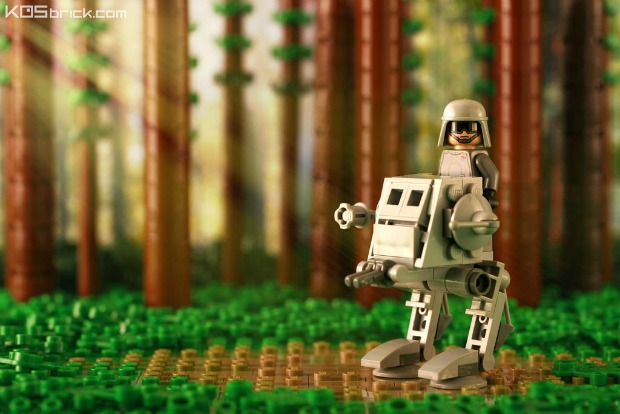 Check Out Cool Micro Chibi Sci-fi Lego Vehicles