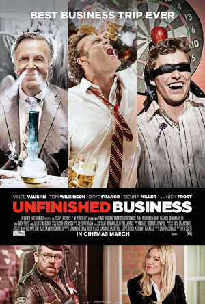 Vince Vaughn's Unfinished Business gets new poster