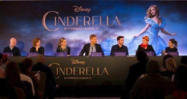 Cinderella London Press Conference – 19th March, 2015