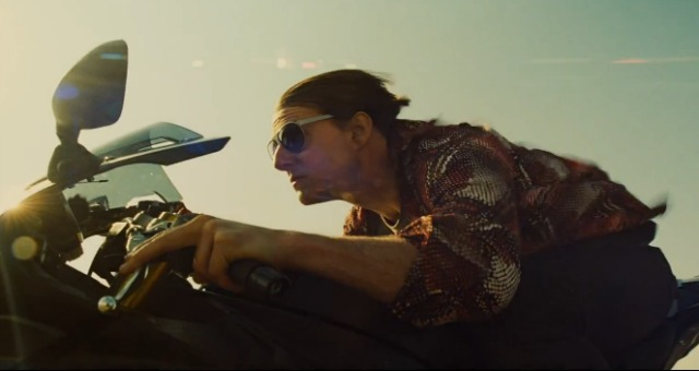 Mission  Impossible  Rogue Nation_Tom Cruise Bike