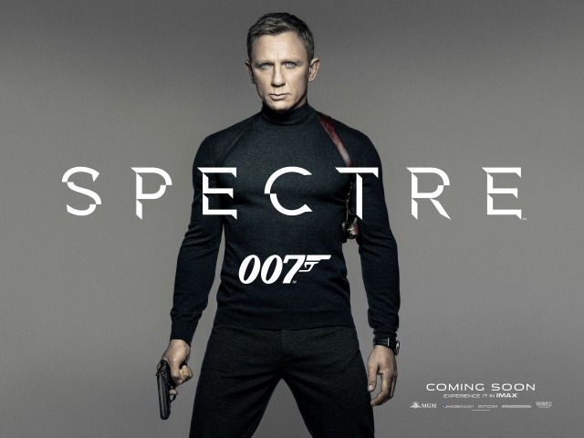 From Tailored Suits To Turtle Necks In New Spectre Poster