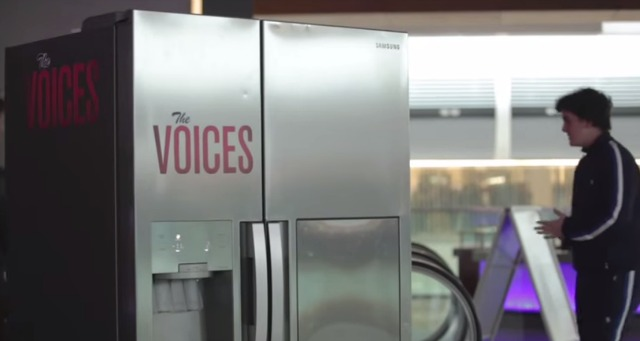 Watch Funny The Voices Vue Cinemas Fridge Viral Prank