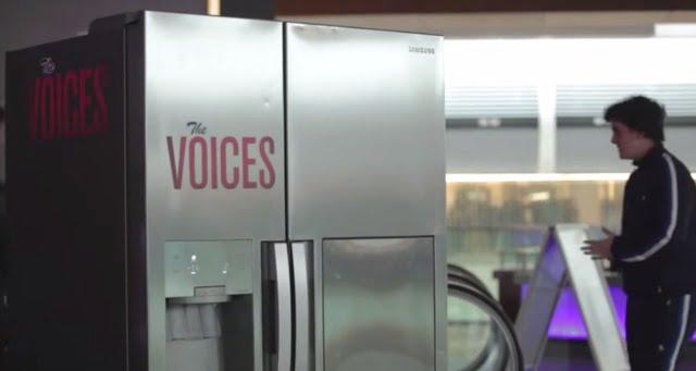 Watch Funny The Voices Vue Cinemas Fridge Viral Prank