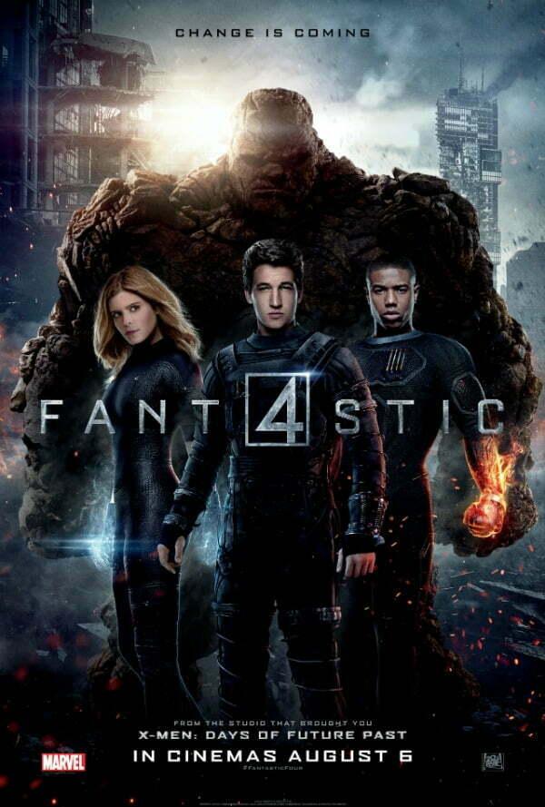 Fantastic Four uk poster