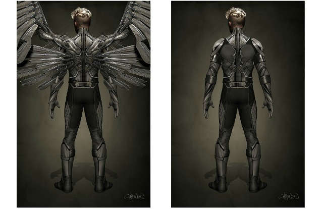 Fox Reveal Ben Hardy Is Angel In X-Men:Apocalypse,First Look At Uniform