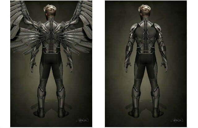Fox Reveal Ben Hardy Is Angel In X-Men:Apocalypse,First Look At Uniform