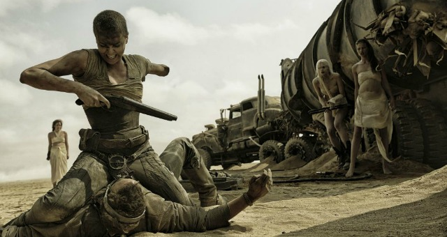 Charlize Theron Shows Her Badass Side In New Mad Max:Fury Road Trailer