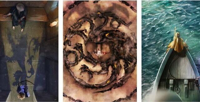 Cool Art – Andy Fairhurst's Nerd's Eye View Of Game Of Thrones