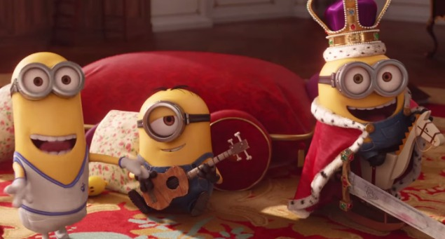 Kevin, Stuart, Bob Look For Master In London New Minions Trailer
