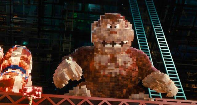 When Retro Video Games Attack In New Pixels UK Trailer 2