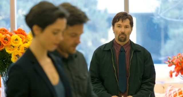 (L-R) REBECCA HALL, JASON BATEMAN and JOEL EDGERTON star in THE GIFT