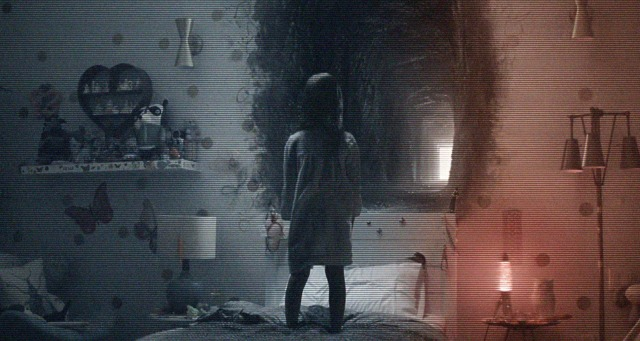 Be Spooked By Paranormal Activity: The Ghost Dimension Living Poster