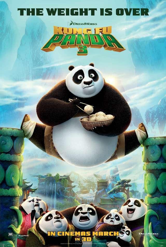 Kung Fu Panda 3 Poster-1