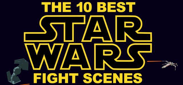 Infographic: Top 10 Star Wars Fight Scenes