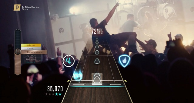 FEAST ON THIS: Activision Drops 34 New Tracks in Guitar Hero Live