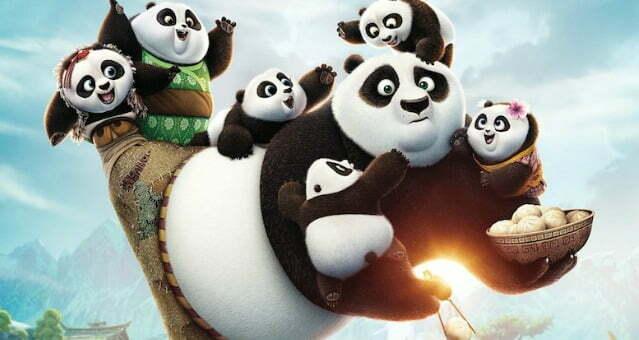 Po Grabs The New Kung Fu Panda 3 Trailer By The Dumplings