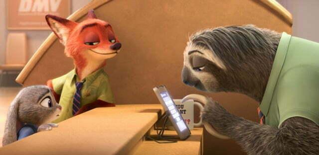It's 'Sloth Time' In New Disney  Zootropolis Trailer