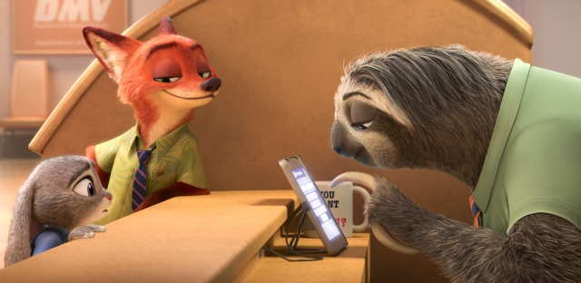It's 'Sloth Time' In New Disney  Zootropolis Trailer