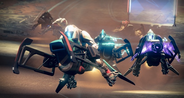 Destiny: The Taken King Sparrow Racing League Revealed