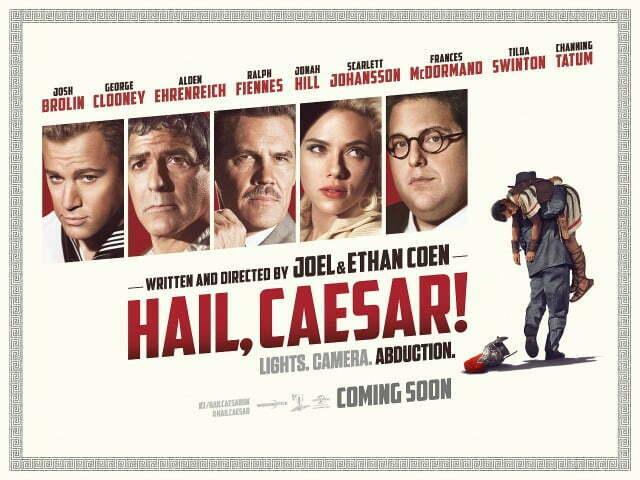 Hail,Caesar! UK Poster