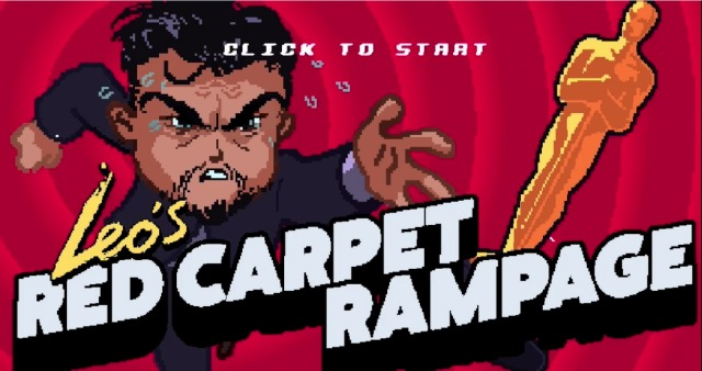 Help Leonardo DiCaprio Get His Oscar In 8-Bit Video Game