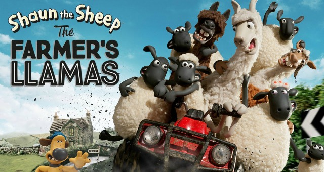 Win Shaun The Sheep: The Farmer's Llamas On DVD