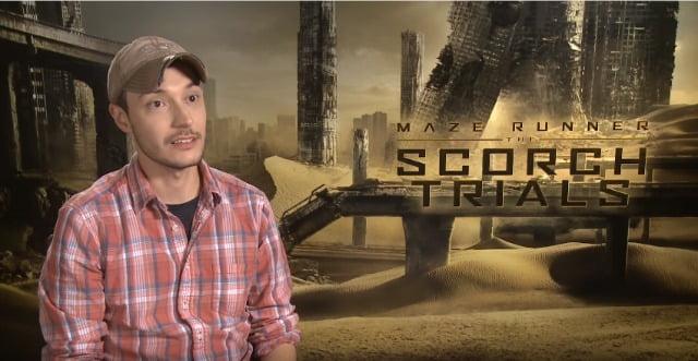 Watch Maze Runner: The Scorch Trials Director Wes Ball Interview