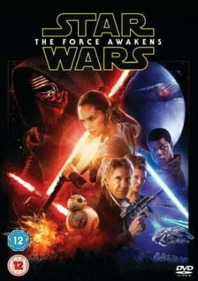 star wars The Fordce Awakens DVD