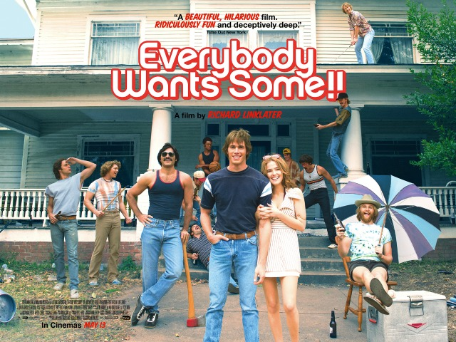 Everybody Wants Some!! Qaud UK Poster