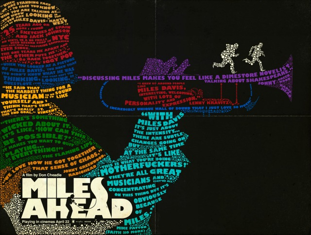 Miles Ahead Quote Poster