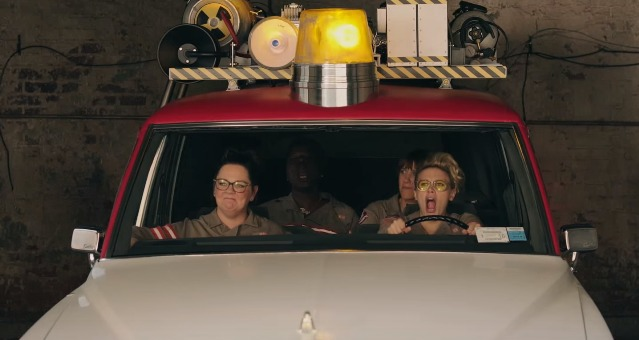 New Ghostbusters Promo Showcases Ecto-1