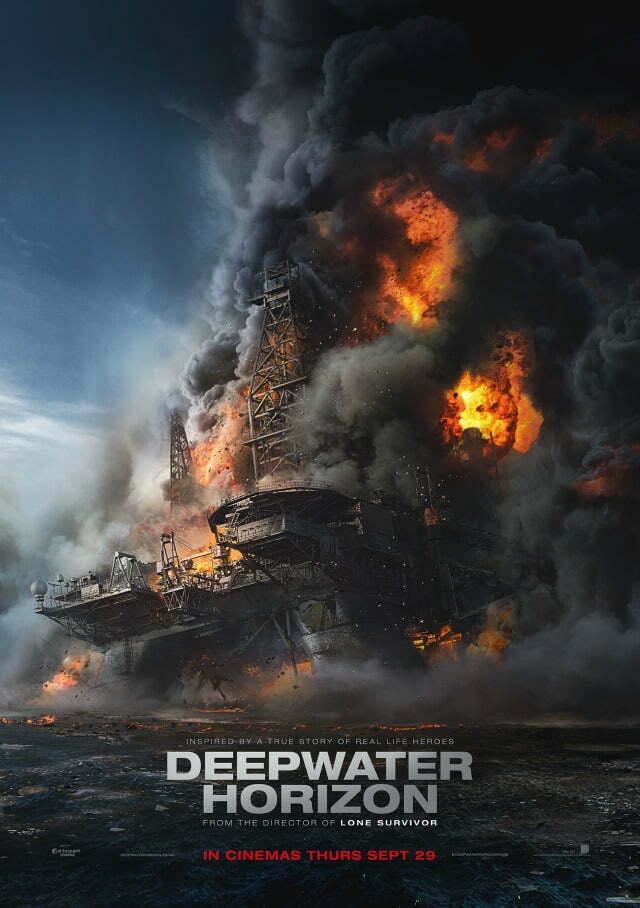 Deepwater Horizon Oil Rig Poster