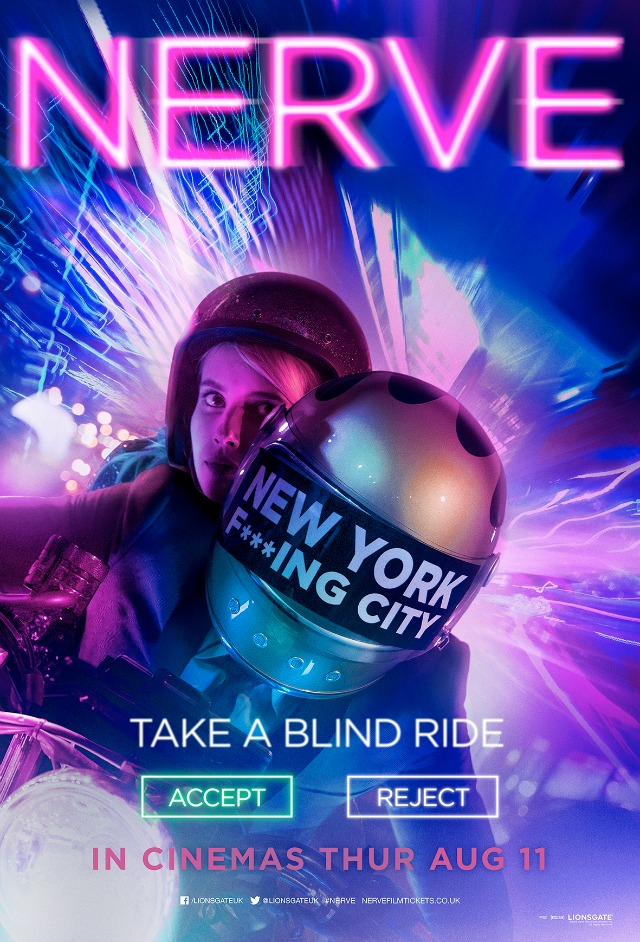 NERVE_DRIVE Poster